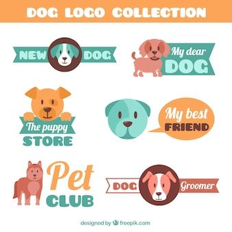 Dog logo collectie