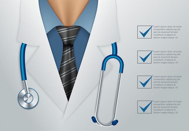 Dokter dicht omhoog