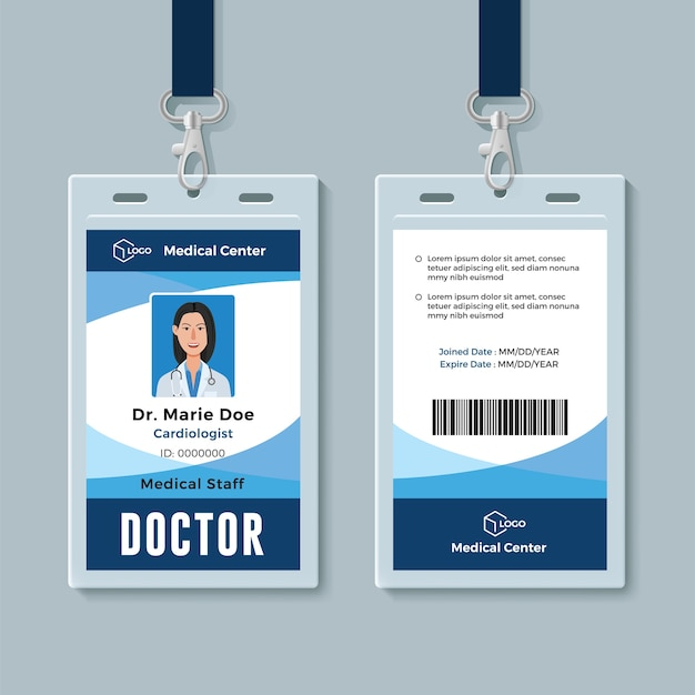 Dokter id-badge