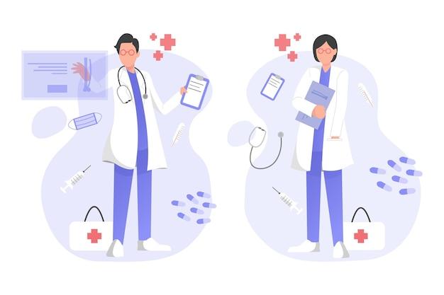 Dokter illustratie