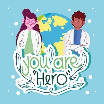 Dokter je bent een held