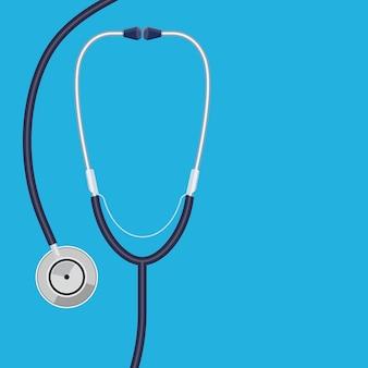 Dokter stethoscoop Premium Vector