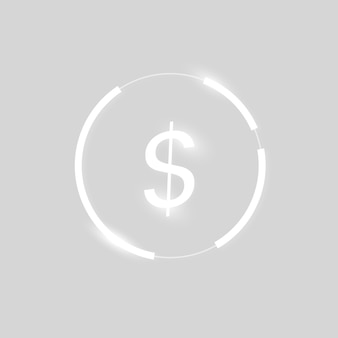 Dollar pictogram geld valutasymbool