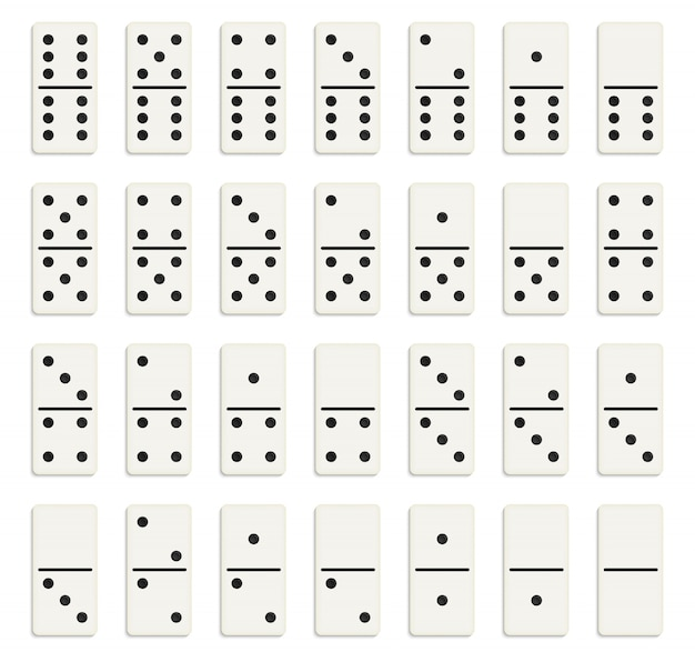 Domino-volledige set