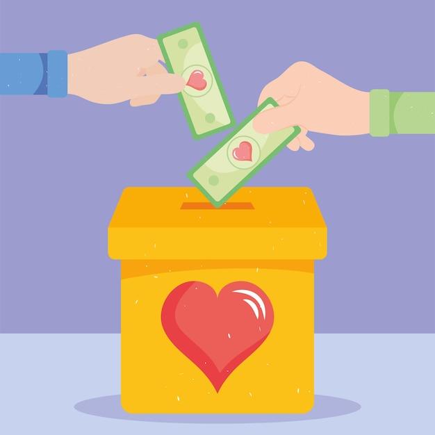 Donatie en liefdadigheidsfinanciering