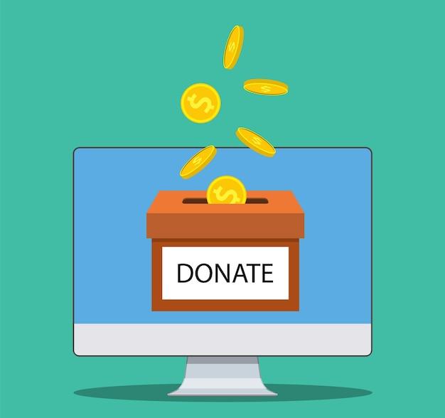 Doneer geld met box