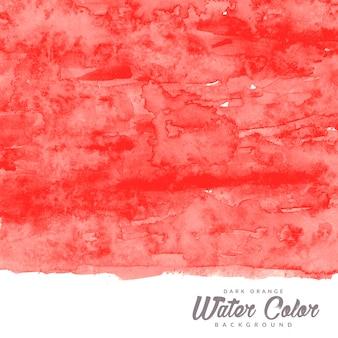 Donker oranje water kleur textuur achtergrond