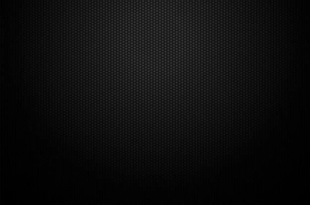 Donker zwart geometrisch rasterontwerp als achtergrond