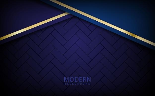 Donkerblauwe abstracte realistische achtergrond