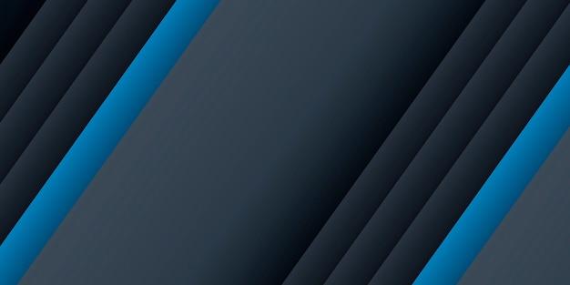 Donkerblauwe achtergrond met lijnelementen