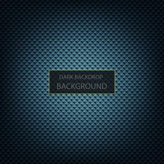 Donkerblauwe en zwarte metaalachtergrond
