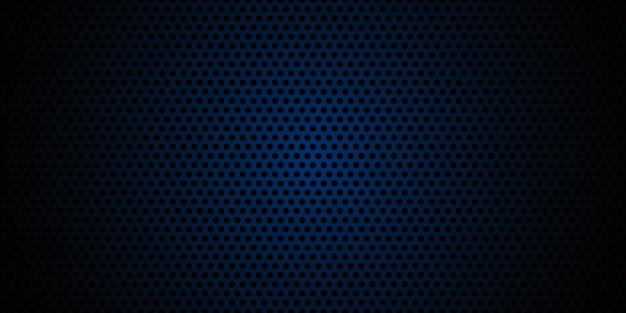 Donkerblauwe koolstofvezeltextuur. marineblauwe metalen textuur stalen achtergrond.