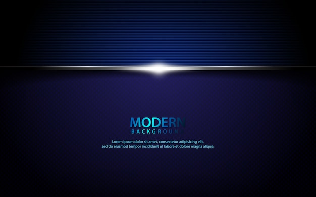 Donkerblauwe metaal geweven horizontale achtergrond