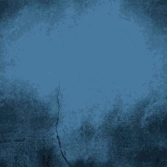 Donkerblauwe verontruste textuur