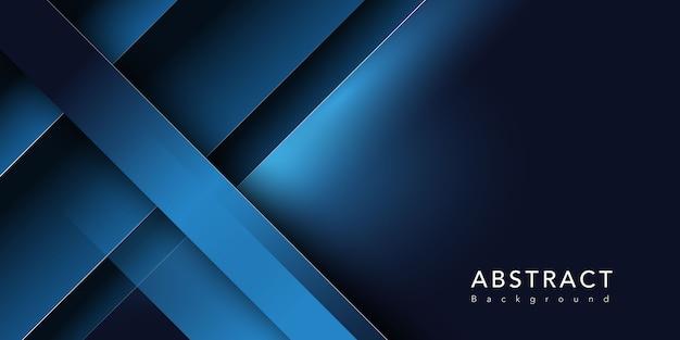 Donkerblauwe vorm Gratis Vector