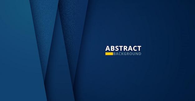 Donkere abstracte achtergrond met donkerblauwe kleur Premium Vector