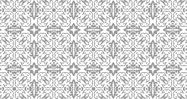 Donkere abstracte naadloze patroonstijl