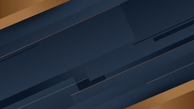 Donkere achtergrond gradiënt geometrische vormen