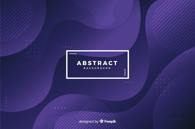 Donkere achtergrond met abstracte vormen