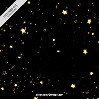 Donkere achtergrond van sterren
