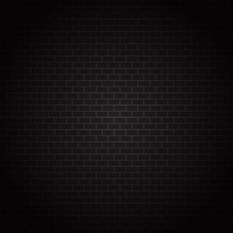 Donkere bakstenen muur textuur