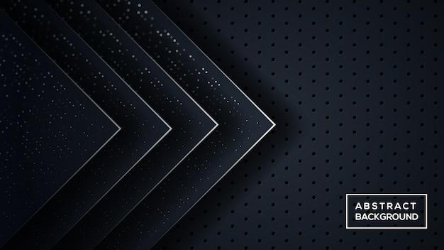 Donkere driedimensionale achtergrond