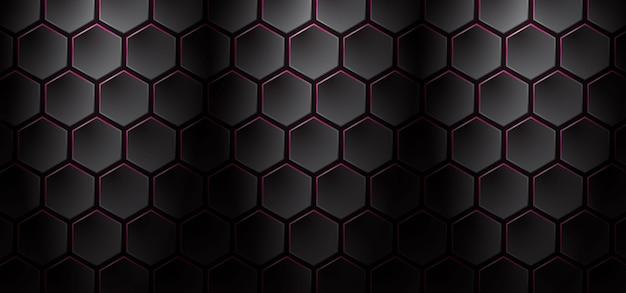 Donkere en roze honingraatachtergrond
