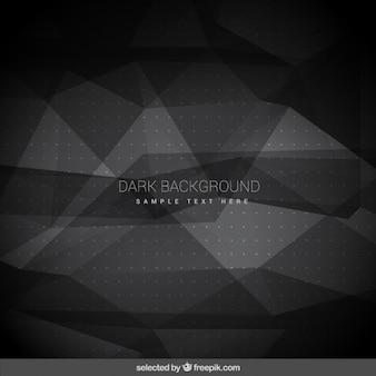Donkere geometrische achtergrond