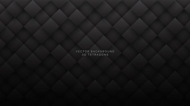 Donkere grijze rhombus technologische abstracte achtergrond