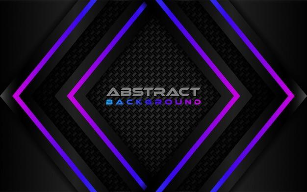 Donkere koolstof abstracte achtergrond