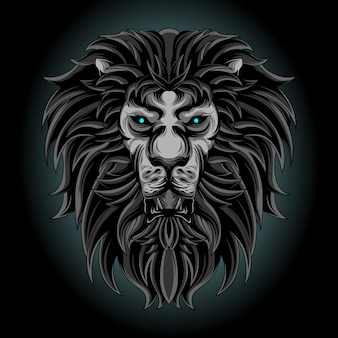 Donkere leeuw