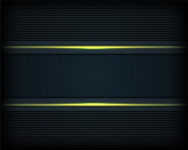 Donkere metalen textuur met groene lijnenachtergrond