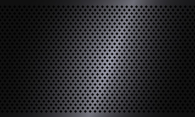 Donkere ruit textuur stalen achtergrond. geometrisch structuurpatroon. industriële ontwerpachtergrond. metalen textuur aluminium achtergrond.