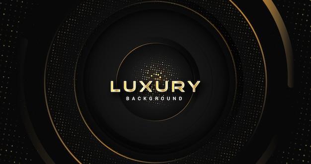 Donkere stylist luxe gouden achtergrond