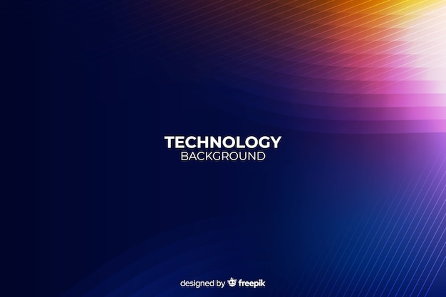 Donkere technologie abstracte achtergrond