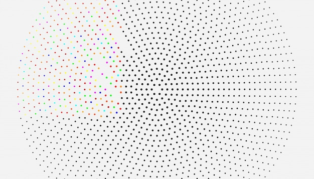 Donkere vectorachtergrond met bellen. mooie gekleurde illustratie met vage cirkels in aardstijl.