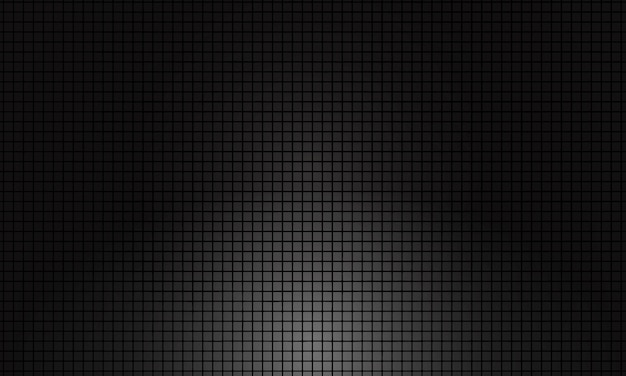 Donkere vierkante rasterachtergrond