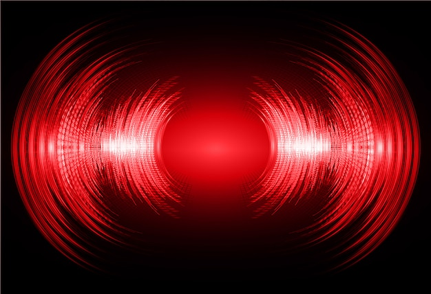 Donkerrode geluidsgolvenachtergrond
