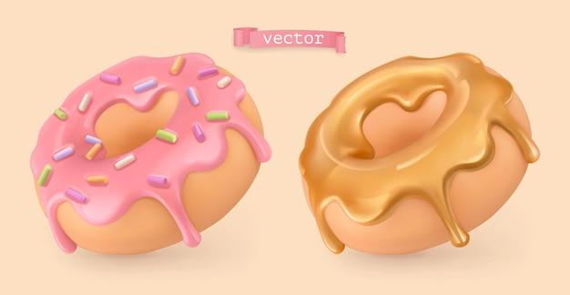 Donut 3d-reeks