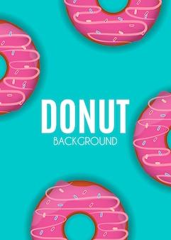 Donut achtergrond