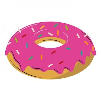 Donut dessert cartoons