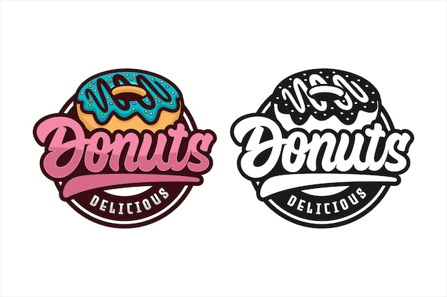 Donut heerlijk logo