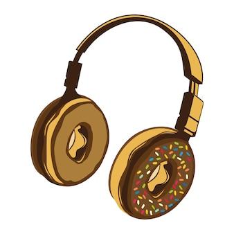 Donut hoofdtelefoon