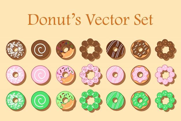 Donut's set