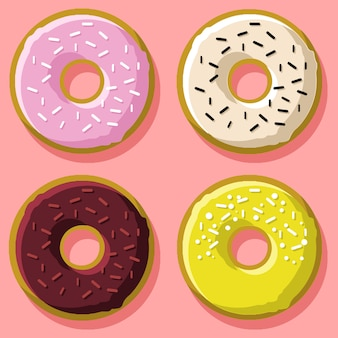 Donuts-collectie