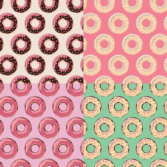 Donuts patroon collectie