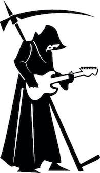 Dood gitaar spelen
