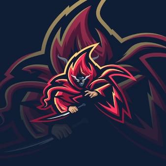 Dood logo ontwerp met