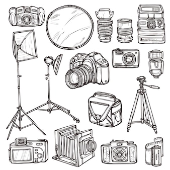 Doodle camera pictogrammen instellen