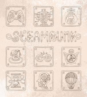 Doodle pictogrammen